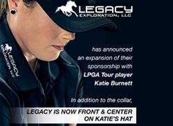 LPGA Golfer Katie Burnett